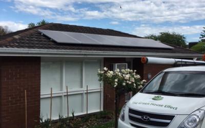 Solar Hybrid System, Healesville.