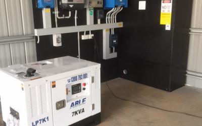Buxton Solar Installation 8kw Victron quattro  Ac coupled Fronius 5kw Narada Batteries